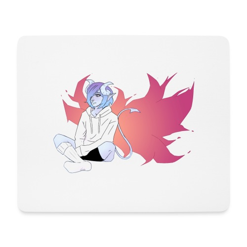 Corrupted Wings - Mouse Pad (horizontal)