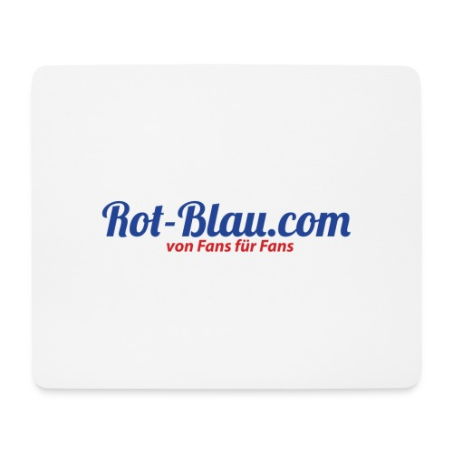 Rot-Blau.com Logo - Mousepad (Querformat)