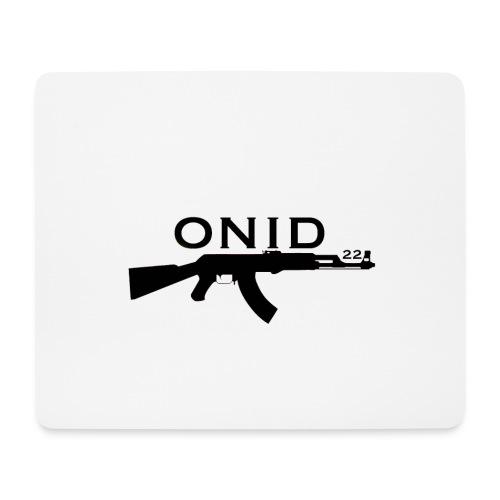 logo ONID-22 nero - Tappetino per mouse (orizzontale)