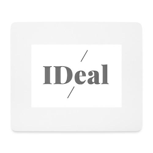 IDeal logga 2 - Musmatta (liggande format)