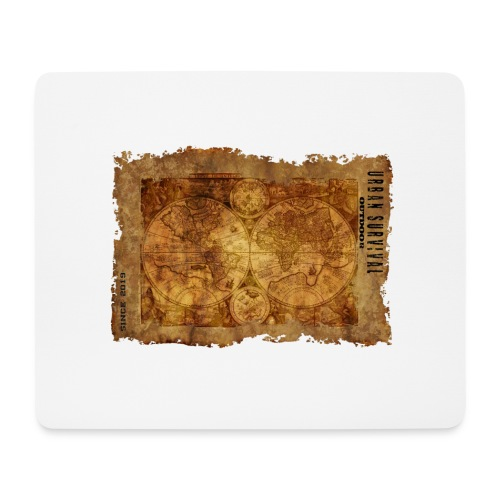 map of the world 2241469 1920 - Mousepad (Querformat)