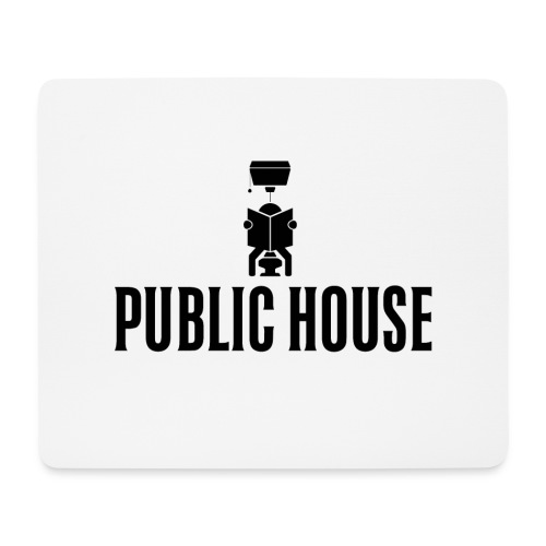 Official Women Shit by Public House - Mouse Pad (horizontal)
