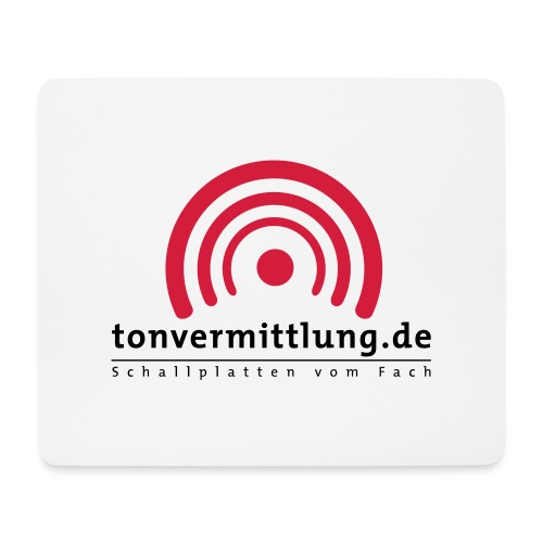 logo hoch - Mousepad (Querformat)