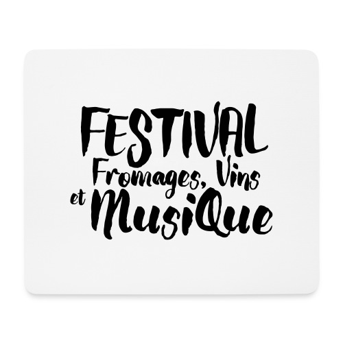 Festival FVM - Tapis de souris (format paysage)