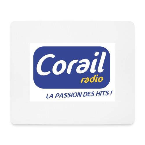 Logo bleu - Tapis de souris (format paysage)