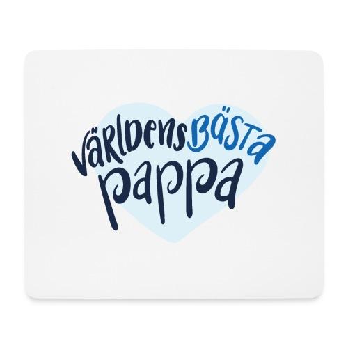Världens bästa Pappa - Musmatta (liggande format)