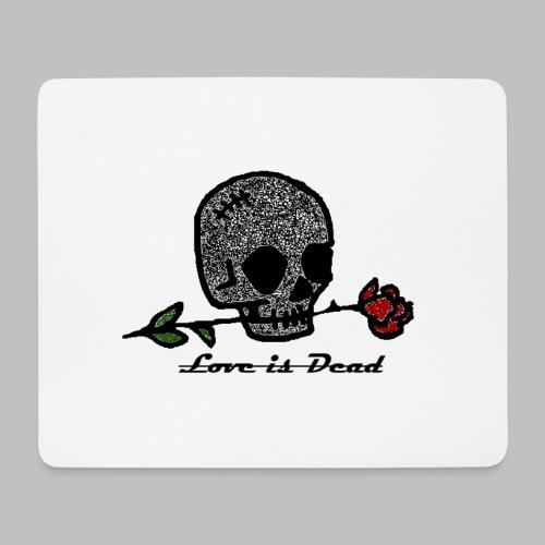 Love Is Dead Custom Skull Design - Muismatje (landscape)