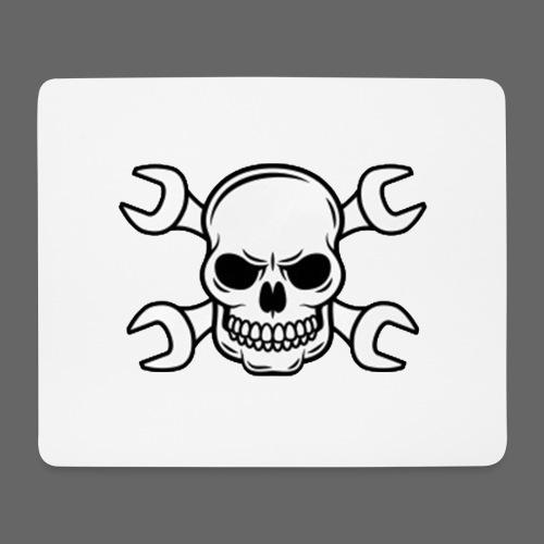 MEKKER SKULL - Mousepad (bredformat)