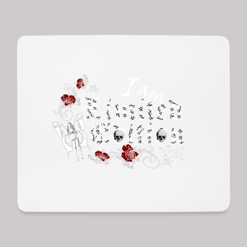 simply wild limited edition on black - Mousepad (Querformat)