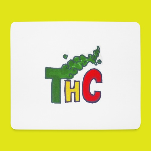 THC logo one - Tappetino per mouse (orizzontale)