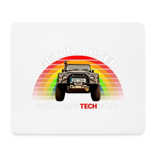 We're Doing Tech Stuff - Mouse Pad (horizontal)