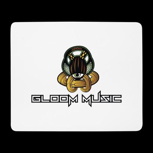 GLOOM MUSIC LOGO COLOR - Mouse Pad (horizontal)