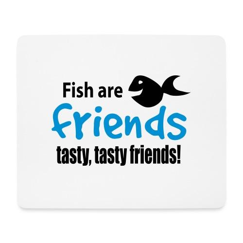 Fisk er venner - Musematte (liggende format)