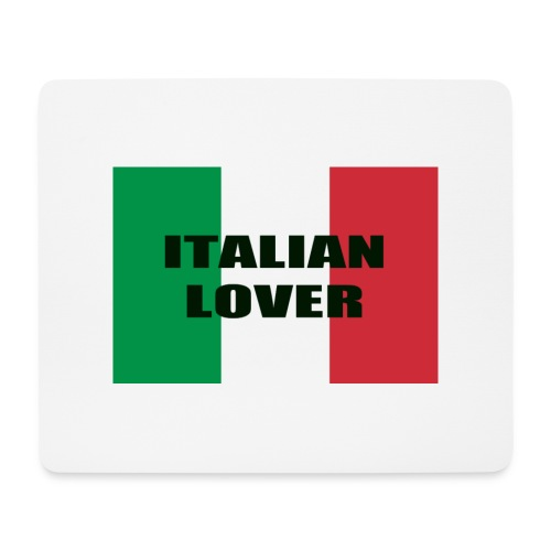 ITALIAN LOVER - Tappetino per mouse (orizzontale)