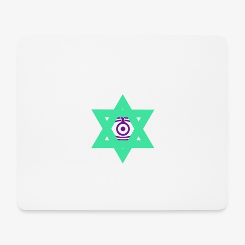 Star eye - Mouse Pad (horizontal)