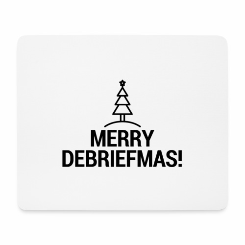 MERRY DEBRIEFMAS - Tappetino per mouse (orizzontale)