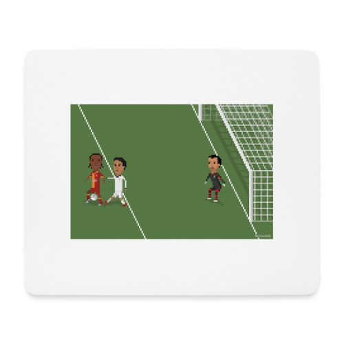 Backheel goal BG - Mouse Pad (horizontal)