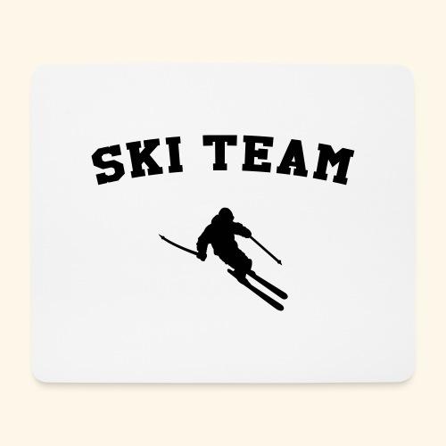 ski team - Tapis de souris (format paysage)