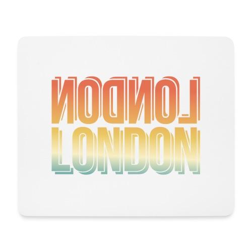 London Souvenir England Simple Name London - Mousepad (Querformat)