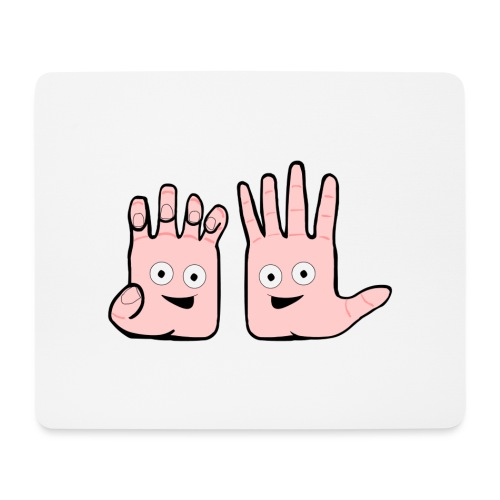 Winky Hands - Mouse Pad (horizontal)
