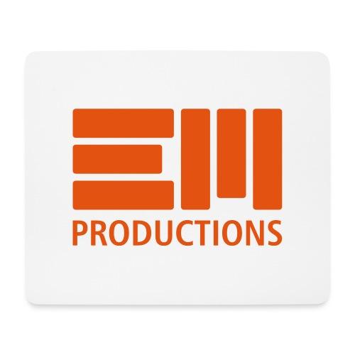 EM Productions Logo 2016 - Mousepad (Querformat)