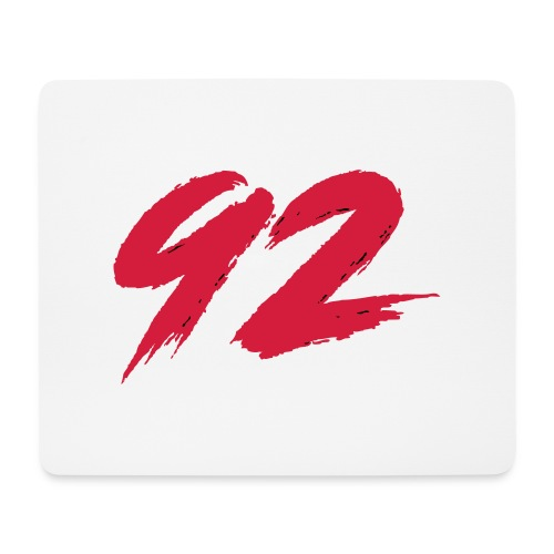 92 Logo 1 - Mousepad (Querformat)