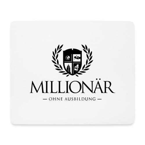 Millionär ohne Ausbildung Jacket - Mousepad (Querformat)