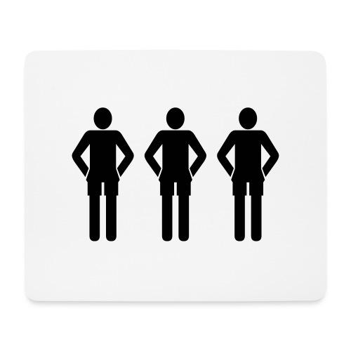 3schwarz - Mousepad (Querformat)