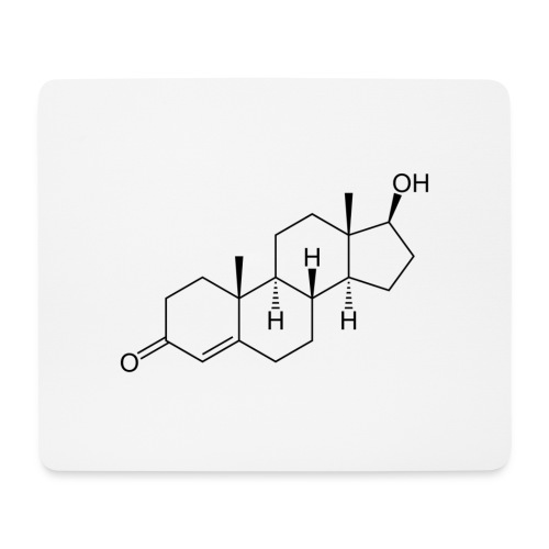 Testosterone - Mouse Pad (horizontal)