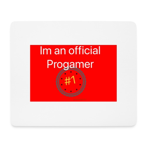 THE PRO'S - Red - Mouse Pad (horizontal)
