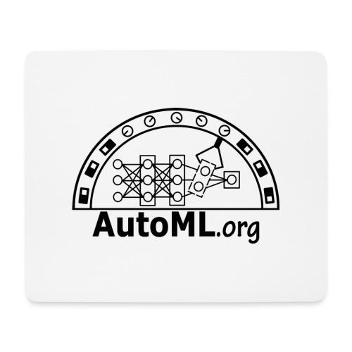 automl_org_black - Mouse Pad (horizontal)