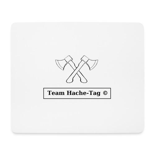 Logo Team Hache-Tag - Tapis de souris (format paysage)