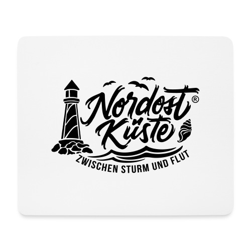 Nordost Küste Logo #6 - Mousepad (Querformat)