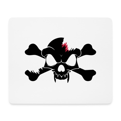 SKULL N CROSS BONES.svg - Mouse Pad (horizontal)