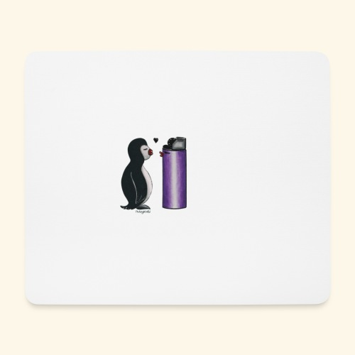 pinguininlove - Mousepad (Querformat)
