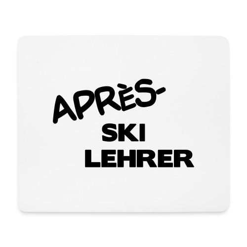 Après Ski Lehrer - Mousepad (Querformat)
