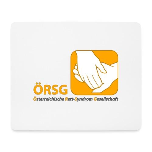 Logo der ÖRSG - Rett Syndrom Österreich - Mousepad (Querformat)