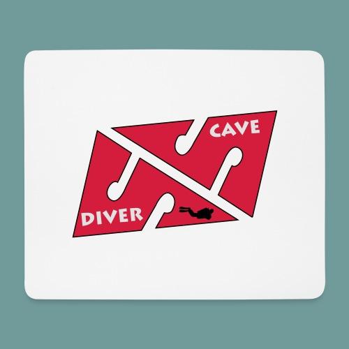 cave_diver_01 - Tapis de souris (format paysage)