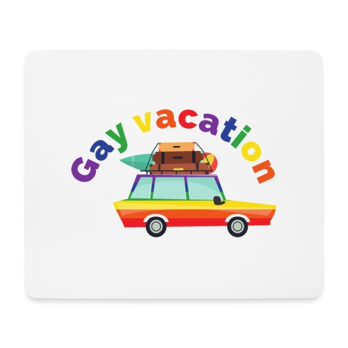 Gay Vacation   LGBT   Pride - Mousepad (Querformat)