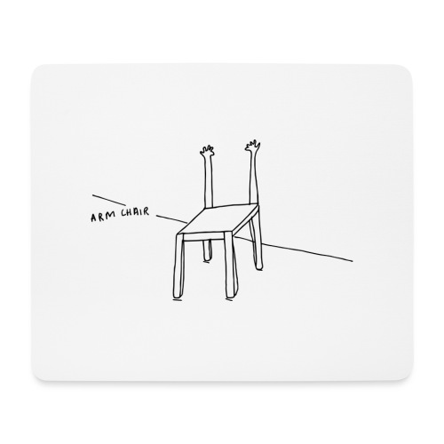 Arm Chair - Mouse Pad (horizontal)