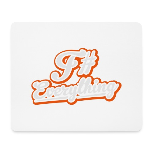 F# Everything - Mouse Pad (horizontal)