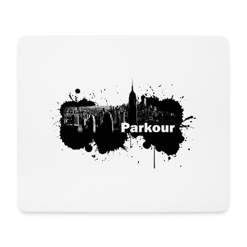 Parkour Splash New York - Mousepad (bredformat)