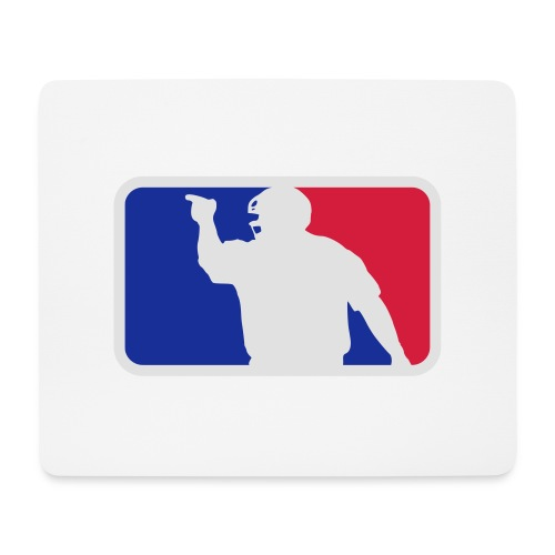 Baseball Umpire Logo - Mouse Pad (horizontal)