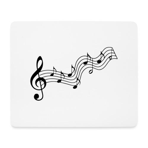 Musiknoten - Mousepad (Querformat)