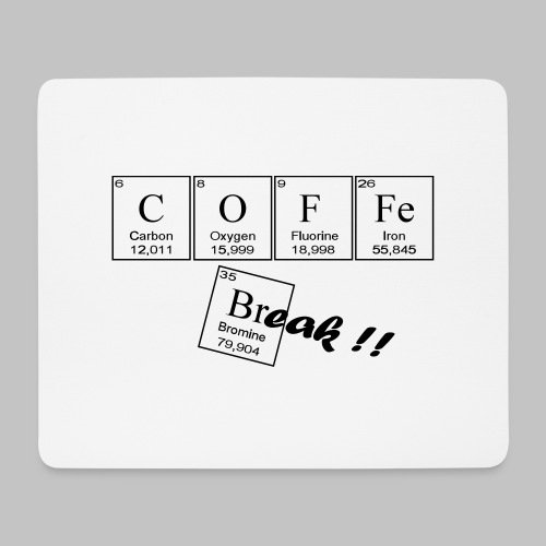 Coffee Break - Mouse Pad (horizontal)