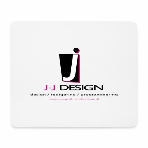 LOGO_J-J_DESIGN_FULL_for_ - Mousepad (bredformat)