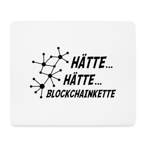 Blockchainkette - Mousepad (Querformat)