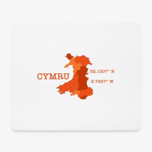 Cymru - Latitude / Longitude - Mouse Pad (horizontal)