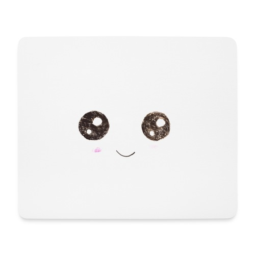 Kids for Kids: Smiling Face - Mousepad (Querformat)