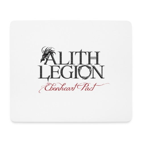 Alith Legion Logo Dragon Ebonheart Pact - Mouse Pad (horizontal)